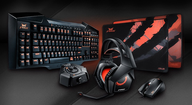 レビュアー無料プレゼント: ASUS「STRIX」ゲーミングデバイス5製品セット