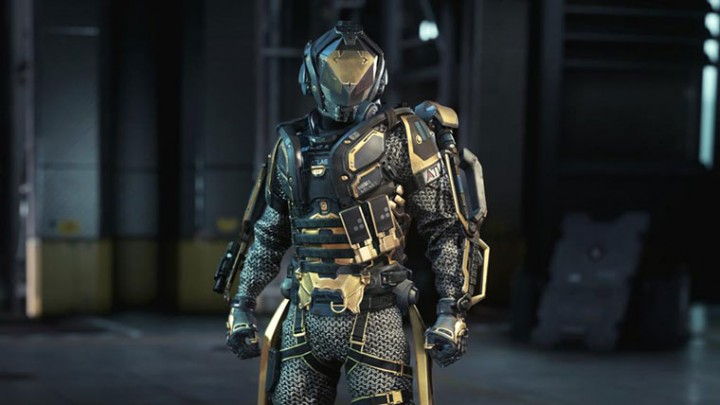 『Call of Duty: Advanced Warfare(コール オブ デューティ アドバンスド・ウォーフェア)』クランウォー報酬 Gold Centurion EXO