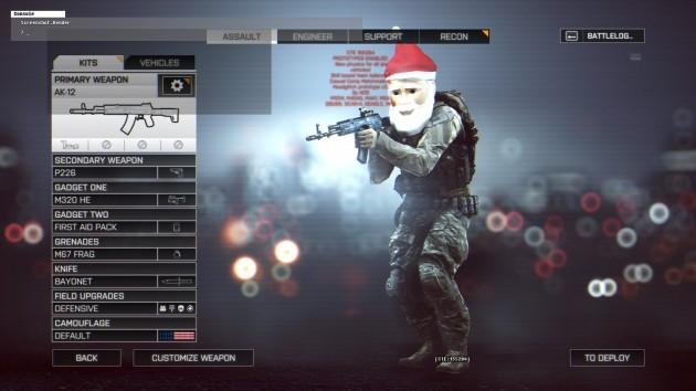 BF4:CTEに複数の愉快なクリスマス・イースターエッグ追加