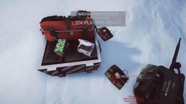プレゼント化したC4と弾薬箱