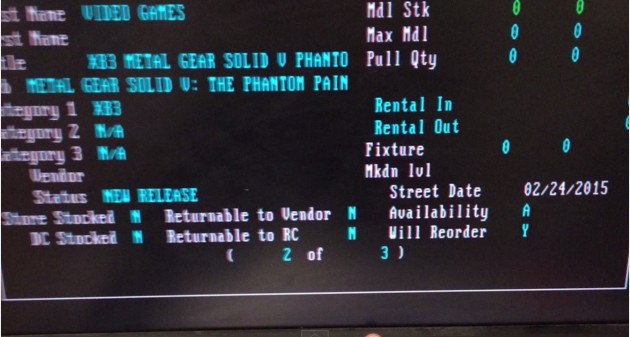 『Metal Gear Solid V: The Phantom Pain(メタルギア ソリッド V ザ・ファントム・ペイン)』