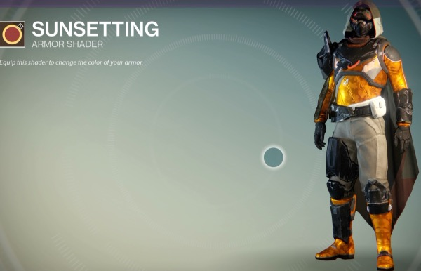 『Destiny(デスティニー)』SUNSETTINGシェーダー