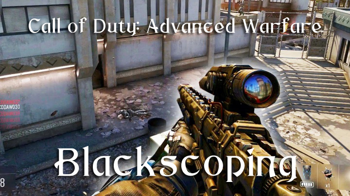 CoD:AW:クイックスコープを超えた「ブラックスコープ」の正体と練習方法