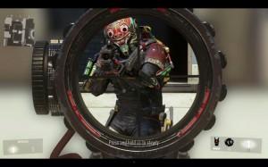 『Call of Duty: Advanced Warfare(コール オブ デューティ アドバンスド・ウォーフェア)』ブラックスコープ 3フレーム目