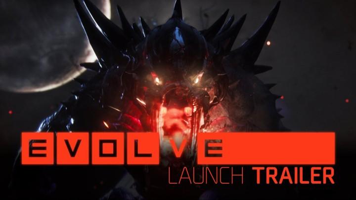 Evolve:海外版遂にリリース、ローンチトレイラー公開