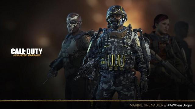 "CoD:AW:新サプライドロップ装備""Marine Grenadier""、今週末登場"
