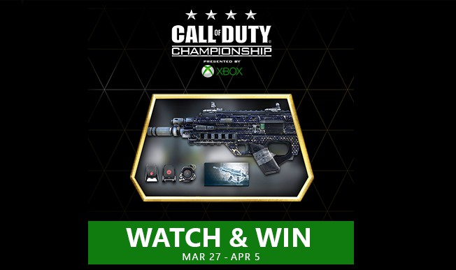 CoD:AW:「CoD Championship」視聴で装備パックなどを入手可能(Xbox)