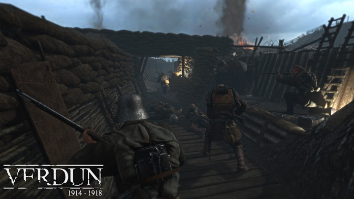 塹壕!第一次世界大戦FPS『Verdun』、Steamにて4/28正式リリース