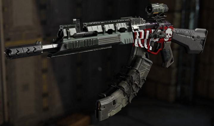 CoD:BO3:武器の共有が可能!? 武器カスタマイズ「ガンスミス」詳細