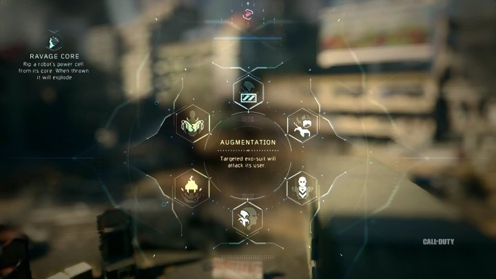 Augmentation:ターゲットにされたExoスーツが使用者を攻撃する。