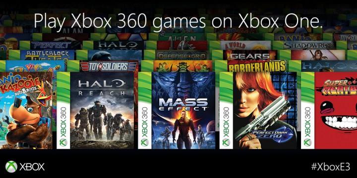 Xbox OneでXbox 360ソフトがプレイ可能に、本日プレビュー開始