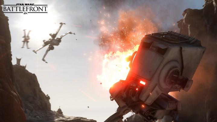 『Star Wars バトルフロント』最新情報を大量公開。近日中に新ヒーロー登場、多数の種族がアンロックでプレイ可能など