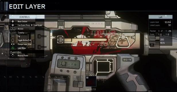 CoD:BO3:ベータに含まれる武器カスタム要素「ペイントショップ」紹介映像