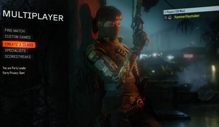 CoD:BO3:スペシャリストキャラクター「セラフ」と「ノーマッド」の特性が分かるハイライト映像