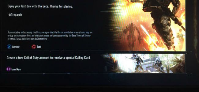 CoD:BO3:Call of Dutyアカウント作成で無料で特別限定コーリングカードをゲット