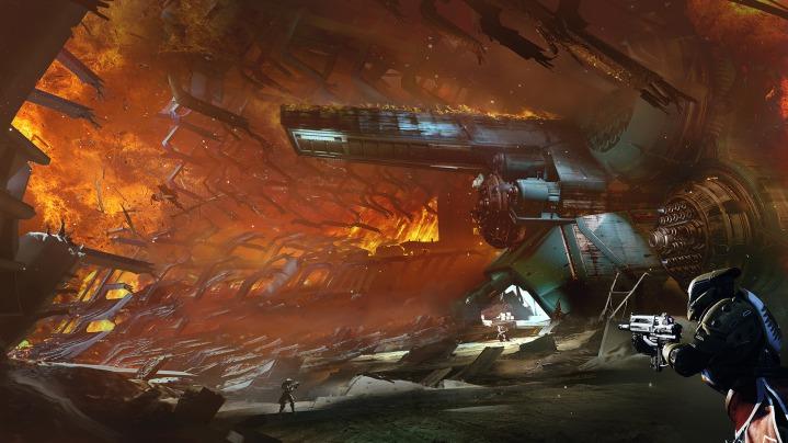 Destiny:DLC「降り立ちし邪神」のティザートレイラー公開、巨大要塞や新声優のボイスも