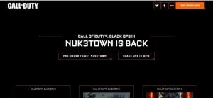 CoD:BO3:新マップ「NUK3TOWN」の公式リークも登場、事前購入特典か