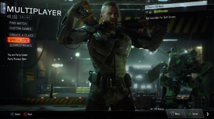 CoD:BO3:「接続プレイヤー数」の表示が復活