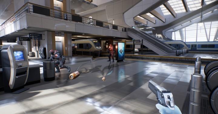 これぞ次世代FPS:Oculus Rift用のヴァーチャルリアリティFPS『Bullet Train』トレイラー