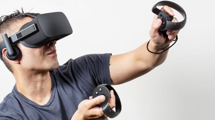 Oculus RiftとTouch使用シーン