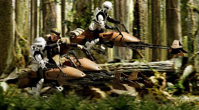 SWBF:「スピーダーバイクによるレース」が登場確定!映画の名シーンを再現