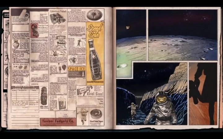 動画に含まれる『CoD:BO3』のものと思われるMOONの画像。