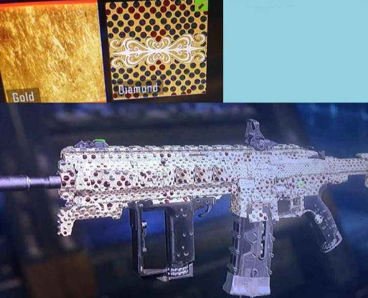 CoD:BO3:「ダイヤモンド迷彩」と「ゴールド迷彩」の登場確定