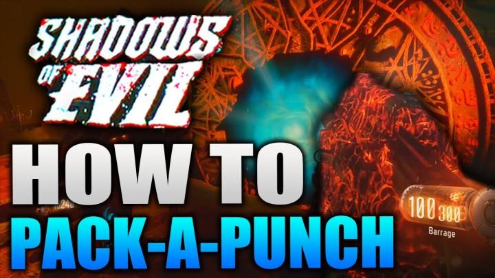 """CoD:BO3:ゾンビモード""""Shadows of Evil """"の「パックアパンチ」開放手順"""