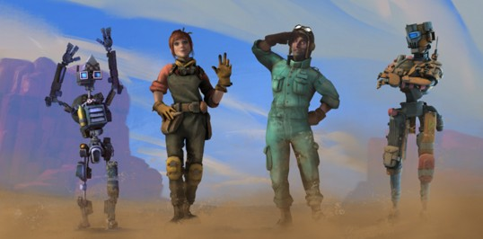 Hover Junkers-Characters