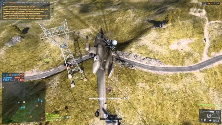 BF4:ヘリで前転からのTOWでジェット撃墜、美しい・・・