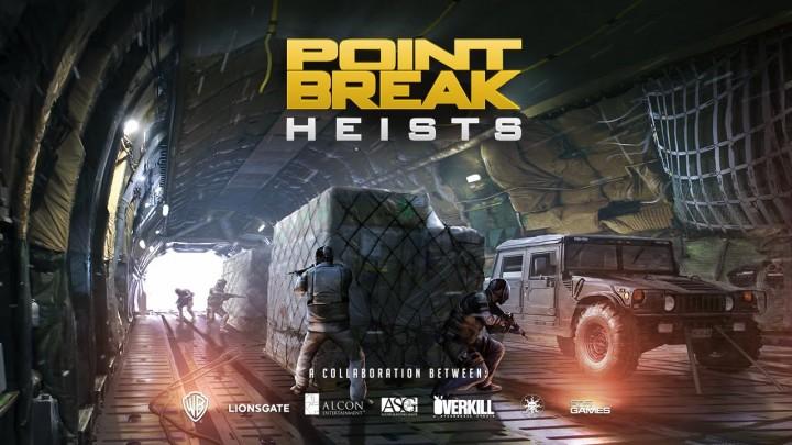 PAYDAY 2:新たなDLC「Point Break」と無料のキャラDLC「Bodhi」配信
