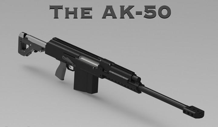 派生型AKライフル「AK-50」登場、ついに50口径化