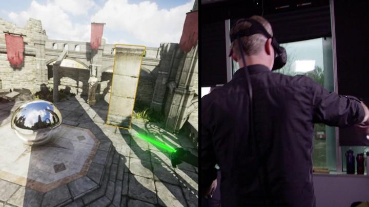 VR内でVRゲームを開発。「Unreal Engine 4」に新たなVR技術が登場