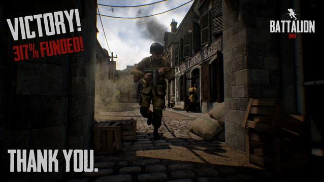 第二次世界大戦FPS『Battalion 1944』が3倍の目標額を調達 、『CoD』や『BF』並のクオリティーへ