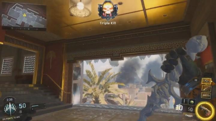 CoD:BO3:新近接武器「Dagger(ダガー)」のプレイ動画リーク、次回サプライドロップかDLCの新武器?