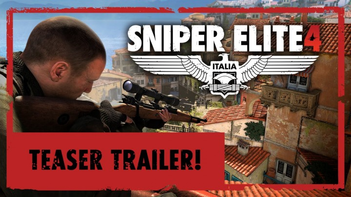 Sniper Eliteシリーズ最新作『Sniper Elite 4』のトレーラー公開、2016年発売