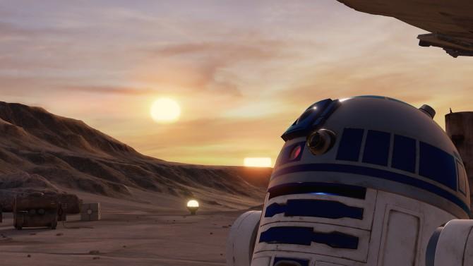 """""""映画以上の""""「スター・ウォーズ」体験ができる公式VR『Trials on Tatooine』公開、ライトセーバーでの戦闘も可能"""