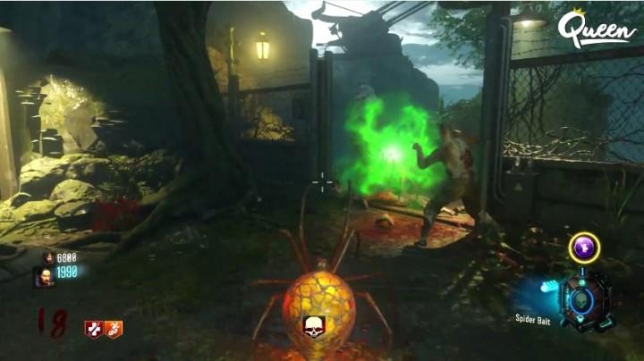 """CoD:BO3:プレイヤー自身がクモになってプレイできる""""絶望の島""""イースターエッグ解明"""
