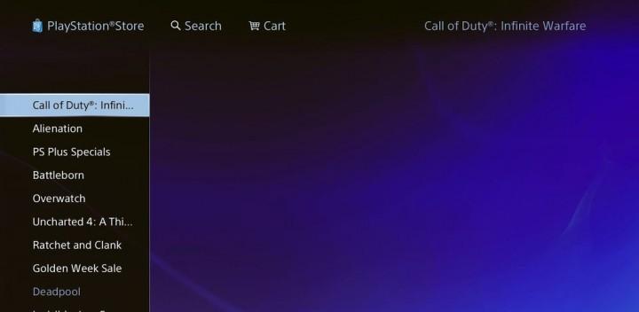 Call of Duty: Infinite Warfare(コールオブデューティ: インフィニットウォーフェア)