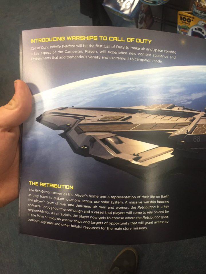 キャンペーンで主人公が指揮を執ることになる巨大戦艦「Retribution(レトリビューション)」。1,000人以上のクルーと共に太陽系を旅することになる。