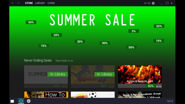 (意味不明)Steamのサマーセールがゲーム化!?いつでもサマーセールを楽しめる時代へ