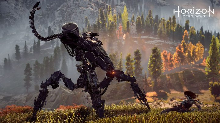Horizon Zero Dawn:最新スクリーンショット4枚公開、動くリアル機械獣も