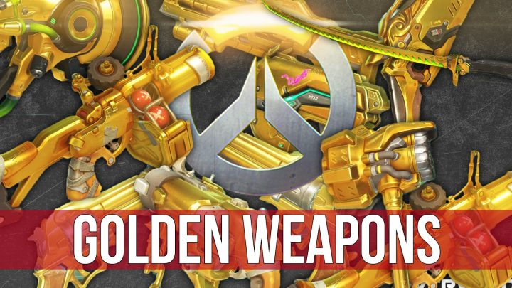"""オーバーウォッチ:レア武器""""ゴールデンガン""""はかなり高額、シーズン1ではトッププレイヤーのみが入手可能か"""