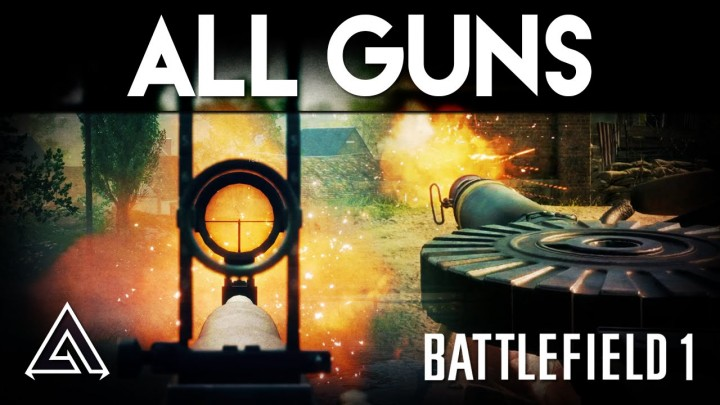 BF1:全武器の射撃動画が登場(クローズドアルファ時点)