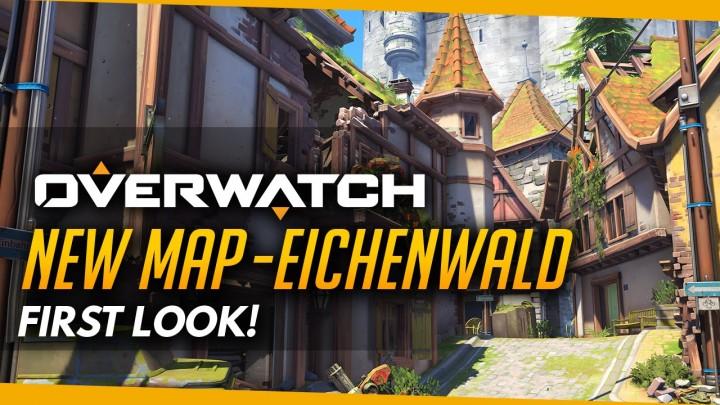 オーバーウォッチ:ドイツの古城を舞台とする新マップ 「Eichenwalde」のプレイ動画