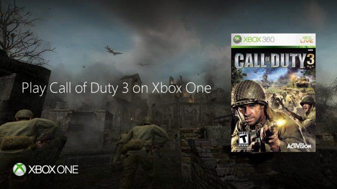 『Call of Duty 3』がXbox Oneの下位互換に対応