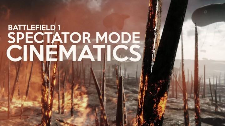 BF1:強化された「観戦モード」で美しいシネマティック映像の制作が可能に