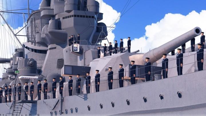 Oculus:「ついに乗れる」戦艦大和のVR体験イベントが横須賀市にて開催
