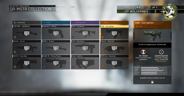 CoD:IW: サプライドロップからのみ入手できる武器バリアント12種の存在判明、経験値上昇Perkも