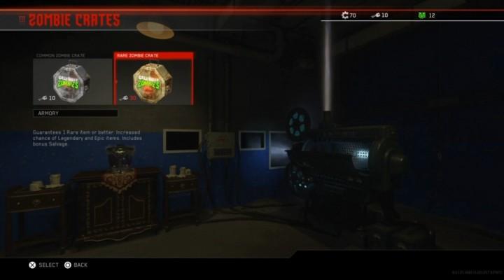 CoD:IW: ゾンビモード専用のサプライドロップ登場、その名も「Zombie Crate(ゾンビクレート)」